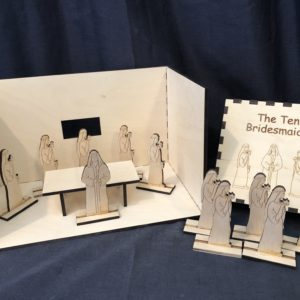 L2-The Ten Bridesmaids (2-Dimensional Figures, Diorama and Box)