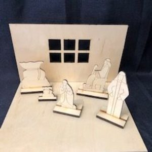 L3-The Debtors (with 2-Dimensional Figures and Diorama)
