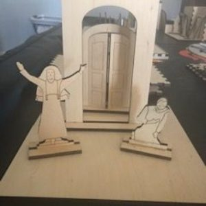 L2-The Pharisee and the Tax Collector (2-Dimensional Figures, Diorama and Box)